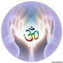 OM is a Sanskrit symbol that represents the sound that created the universe